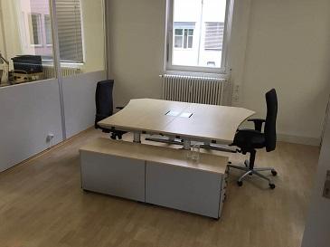 Tischkombination bei 3d Race geleifert von der idealbüro GmbH