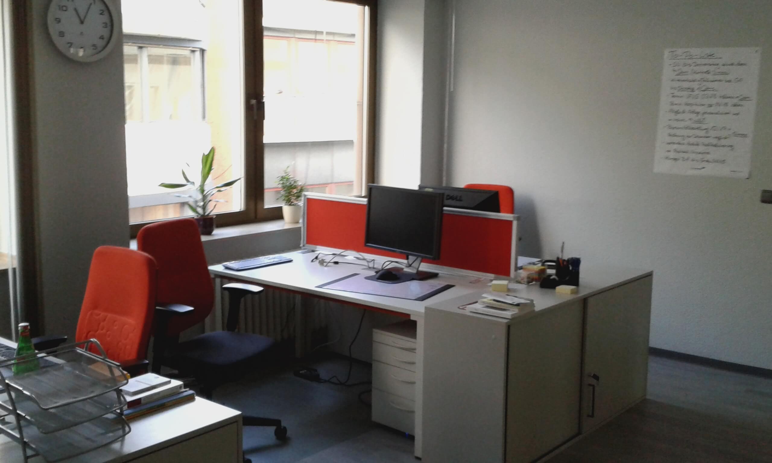 Büroansicht der IFAK möbliert durch die idealbüro GmbH