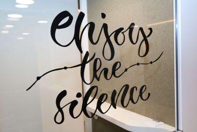 Orgatec 2018 - Enjoy the silence