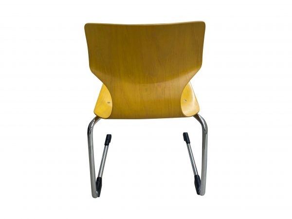 Ass 7811 Stapelstuhl Schulungsstuhl gelb Größe 6 Baujahr 2019 Rückansicht