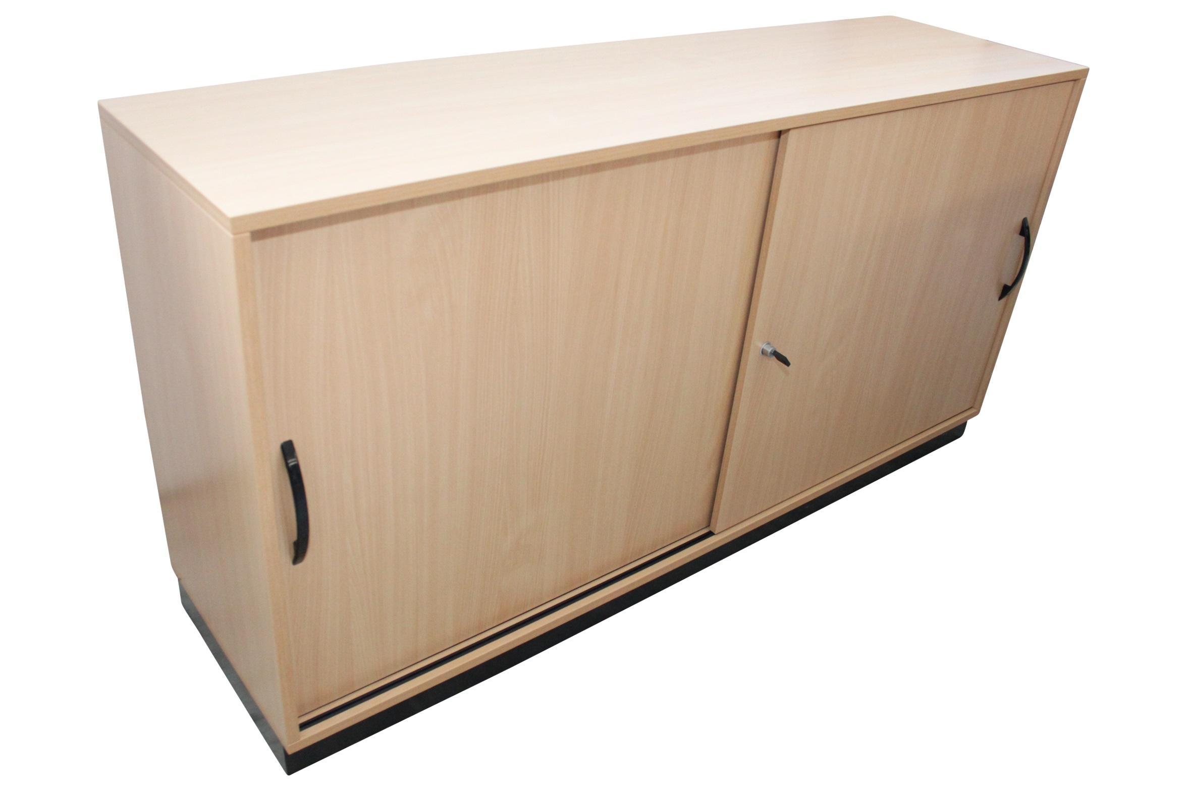 Assmann Gebrauchtes Sideboard Mit Schiebeturen In Hellem Buchendekor
