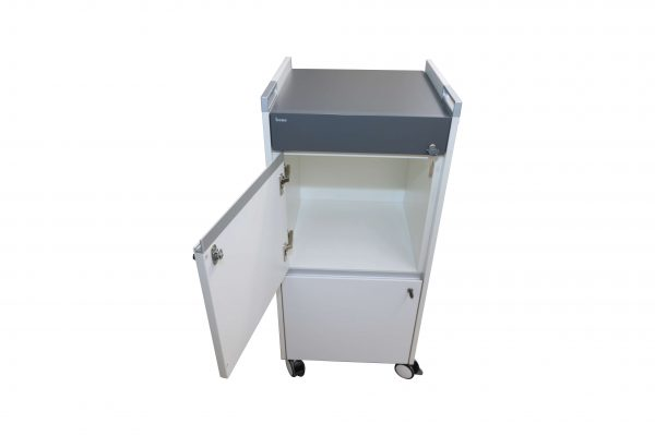 Bene Trolley Caddy weiss anthrazit oberes fach