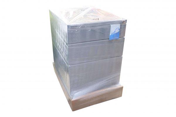 Bisley Rollcontainer silber Neumöbel mit hoher Schublade originalverpackt foliert