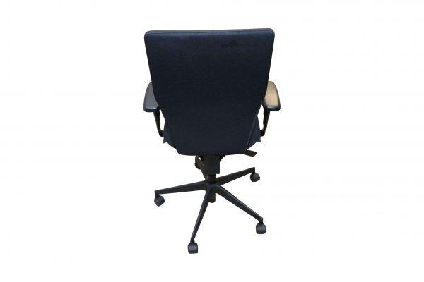 Blaha Twist Bürodrehstuhl mit Synchronmechanik schwarz Rückansicht