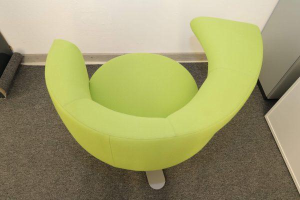 Drabert Hotspot Sessel hellgrün Aufsicht