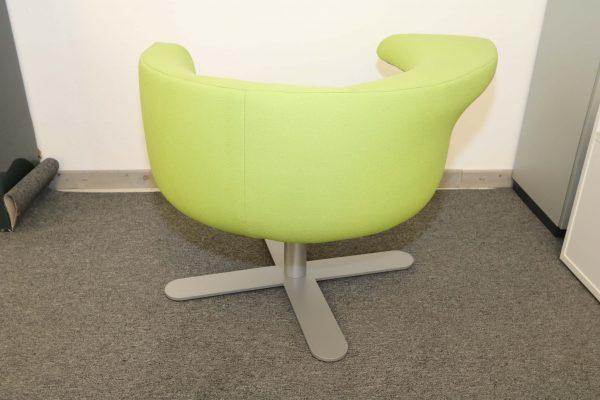 Drabert Hotspot Sessel hellgrün Rückansicht