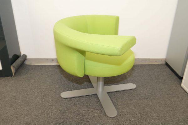 Drabert Hotspot Sessel hellgrün seitlich