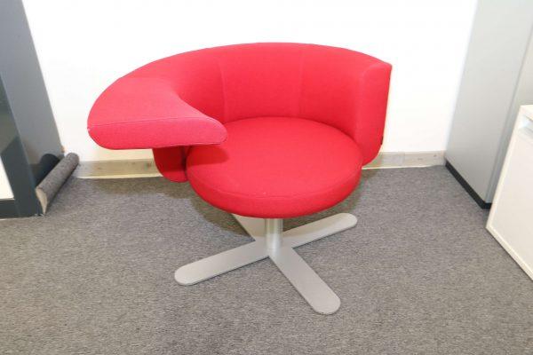 Drabert Hotspot Sessel rot Frontal