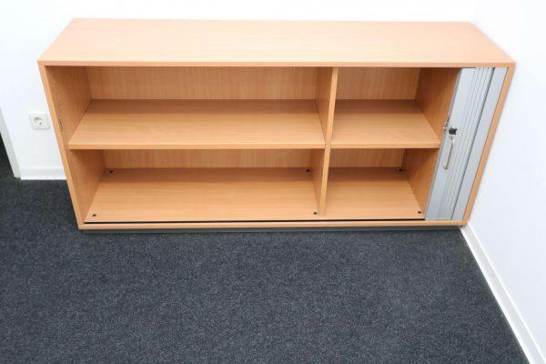 Fleischer Querrollsideboard Schrank geöffnet