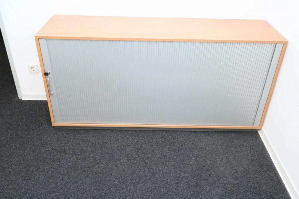 Fleischer Querrollsideboard Schrank geschlossen