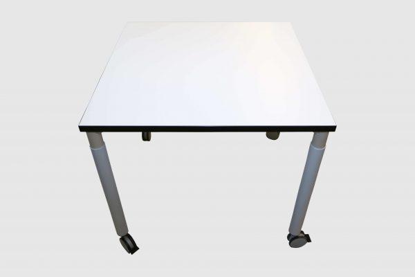 Hali Besprechungstisch weiß verschiedene Größen Tisch quartatisch