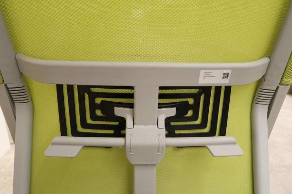 Haworth Comforto 59 Drehstuhl mit Netzrücken schwarz grün Lordose