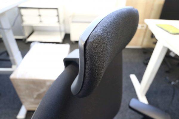 ib Business - ergonomischer Bürostuhl mit Kopfstütze seitliche Ansicht Kopfstütze