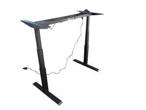 ib Lift Vario Tischgestell elektrisch höhenverstellbar hochgefahren Schrägaufnahme