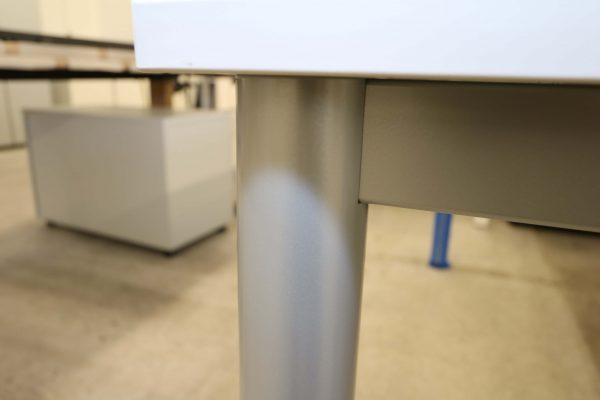 ib Multisize Rechtecktisch Weiß Tischbein