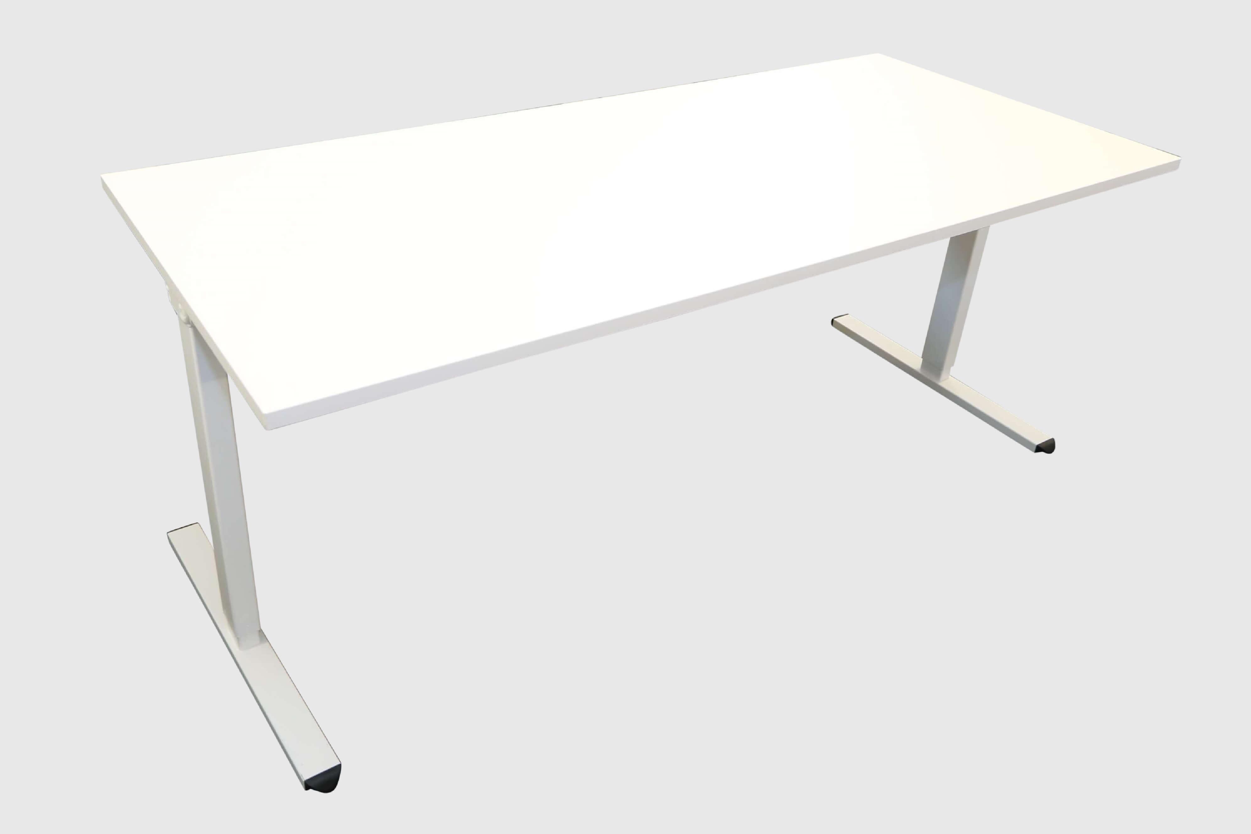 Ib Multisize Weiß 180x80 Cm Elektrisch Höhenverstellbarer Tisch