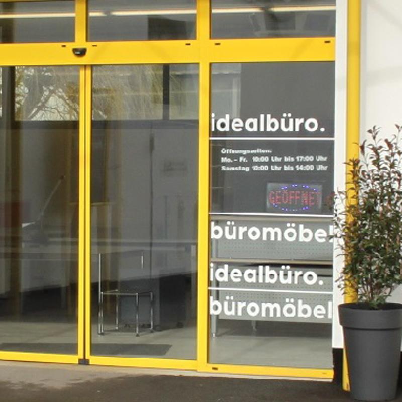 Eingangsansicht der idealbüro GmbH