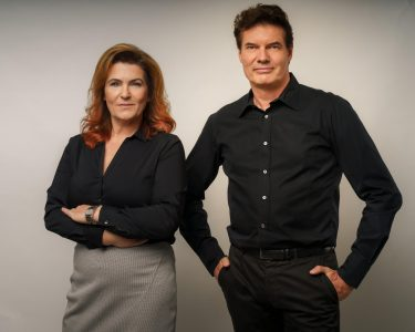 Jan-Helge Moewes und Petra Steinbrück