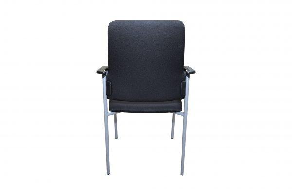 nterstuhl Goal schwarz gebraucht 4 Fuß Stuhl Rückansicht