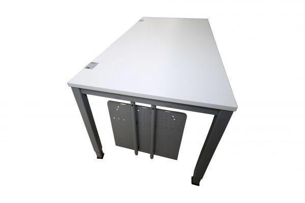 König & Neurtah Basic Schreibtisch weiss PC Halterung