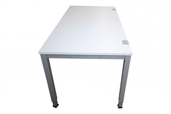 König & Neurtah Basic Schreibtisch weiss seitlich