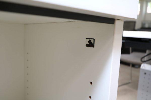 Koenig und Neurath Regal-2oh 80cm breitweiss detail