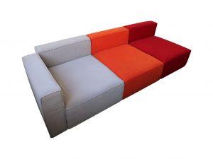 Lounge Sofa bunt freigestellte Darstellung