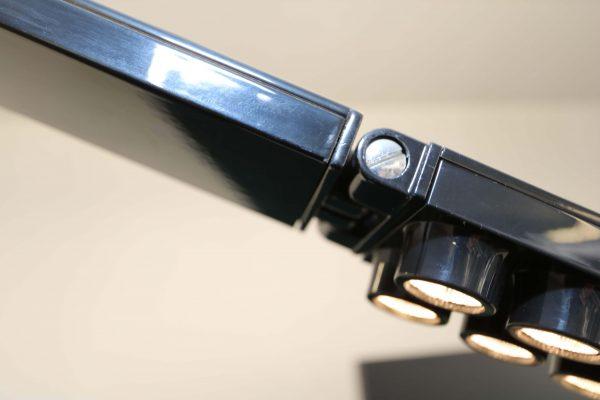 Luxit Top Ten Floor schwarz Designer Standlampe Einstellung Winkel