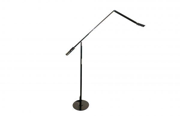 Luxit Top Ten Floor schwarz Designer Standlampe freigestellte Ansicht