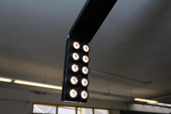 Luxit Top Ten Floor schwarz Designer Standlampe Leuchte geknickt