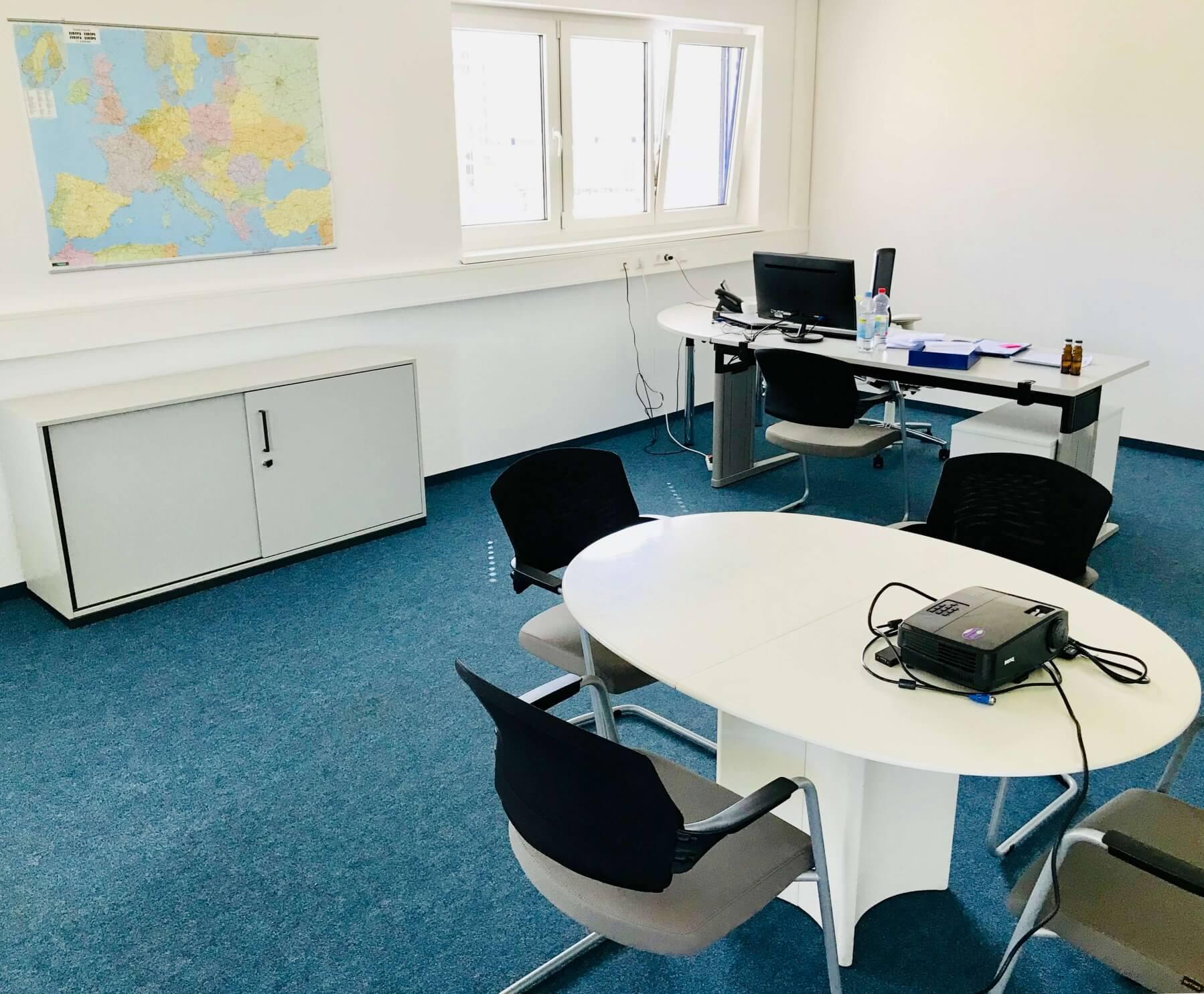 Büroansicht der Marbacher Ölmühle ausgestattet von idealbüro GmbH