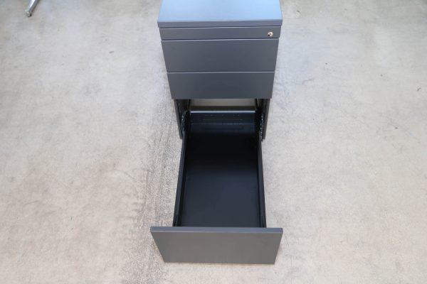 Neudoerfler Standcontainer anthrazit 3 Schublade
