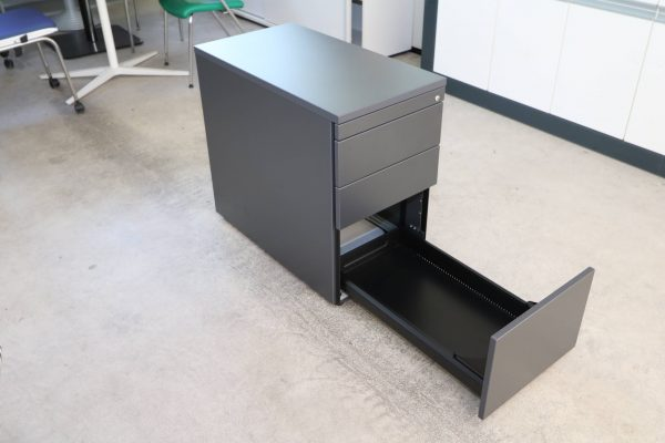 Neudoerfler Standcontainer anthrazit Hängeregister