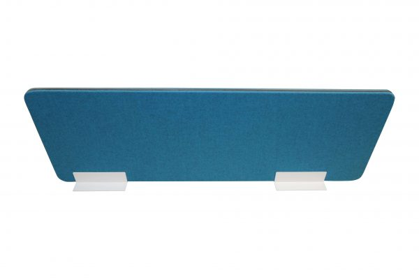Palmberg Sichtschutz-Trennwand petrol-blau Frontalansicht
