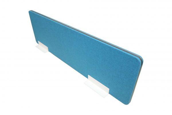 Palmberg Sichtschutz-Trennwand petrol-blau Schrägansicht
