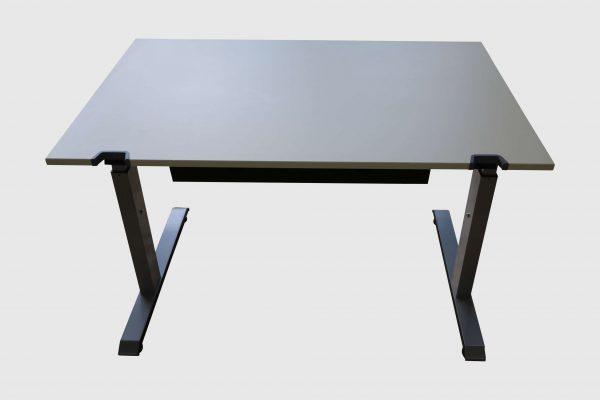 Sedus C-Fuß Schreibtisch Schulungstisch 120 cm breit Frontalansicht