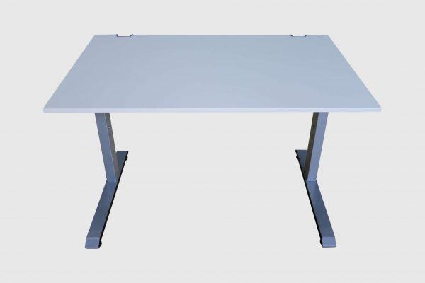 Sedus C-Fuß Schreibtisch Schulungstisch 120 cm breit Rückansicht