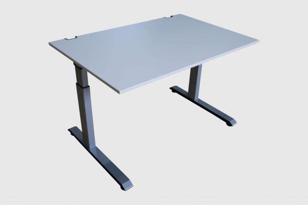 Sedus C-Fuß Schreibtisch Schulungstisch 120 cm breit Schrägansicht