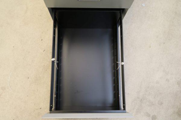 Sedus Hängeregister-Rollcontainer Stahl silber Hängeregisterauszug