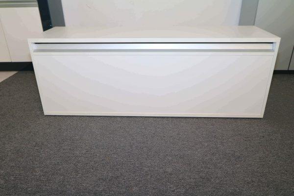 Sedus Lowboard in Weiss 160 cm Rückansicht