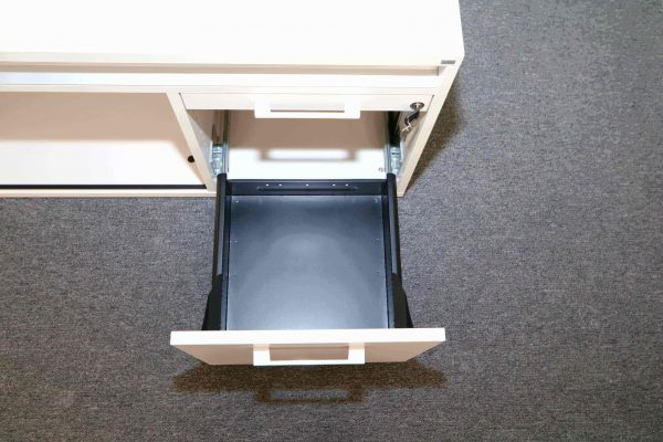 Sedus Lowbaord in Weiss 160 cm tiefe Schublade