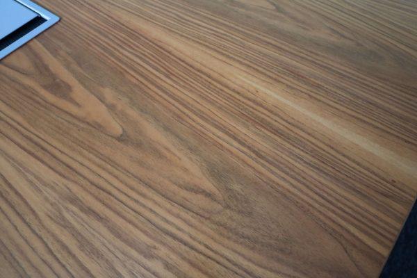 Sedus Mastermind mm300 Nussbaum Echtholz Konferenztisch Holzmaserung