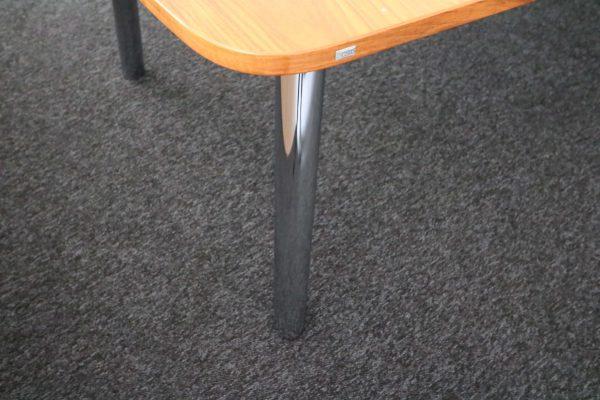 Sedus Mastermind mm300 Nussbaum Echtholz Konferenztisch Chromtischbein