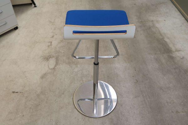 Sedus Meet Chair 901 Blau Rückansicht