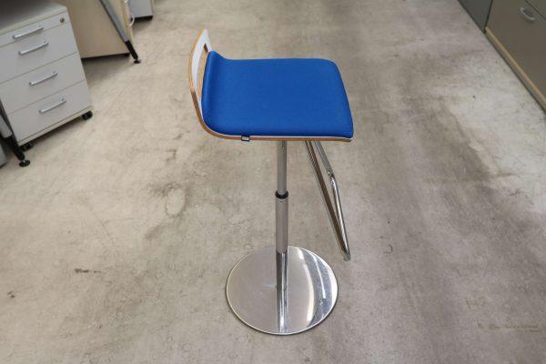 Sedus Meet Chair 901 Blau Seitenansicht
