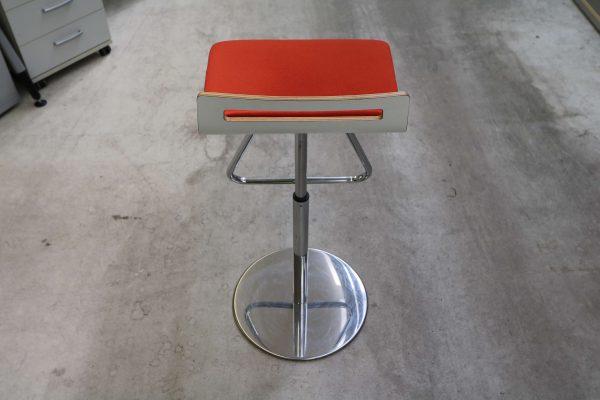 Sedus Meet Chair 901 Rot Rückansicht