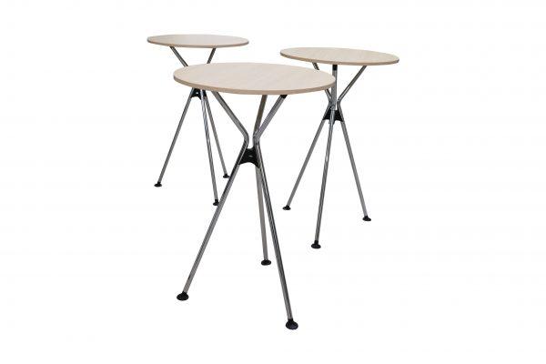 Sedus Meet Table Over Easy 3er mt323 mt334 dreier Tischkombination