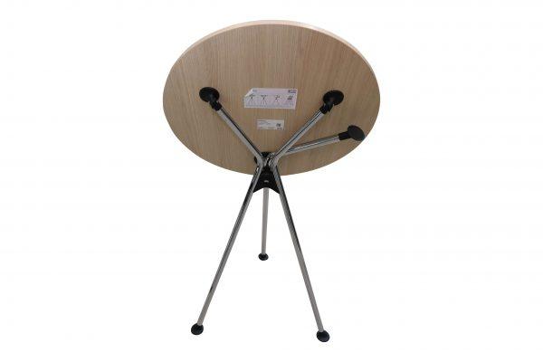 Sedus Meet Table Over Easy 3er mt323 mt334 Einzeltisch geklappt Rückansicht