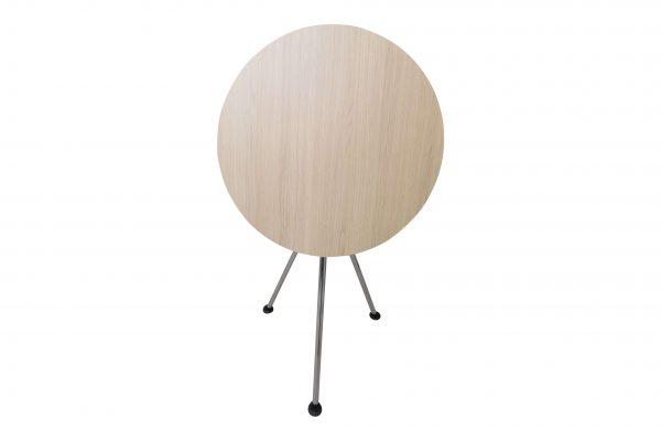 Sedus Meet Table Over Easy 3er mt323 mt334 Einzeltisch geklappt Vorderansicht