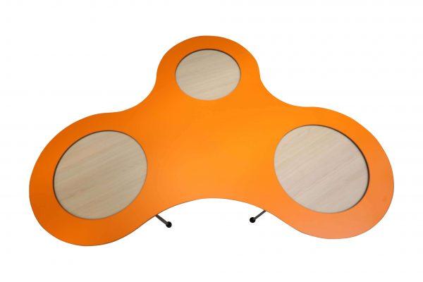 Sedus Meet Table Over Easy 3er mt323 mt334 Orange Aufishctt